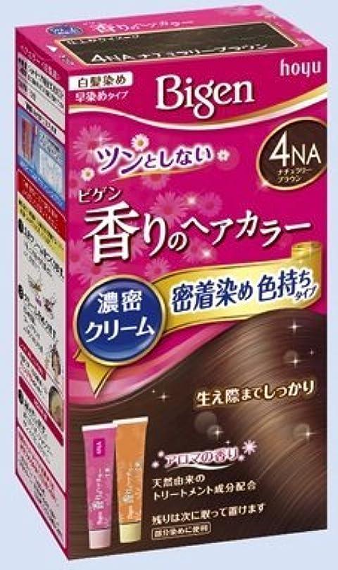 ホバー直径着実にビゲン 香りのヘアカラー クリーム 4NA ナチュラリーブラウン × 5個セット