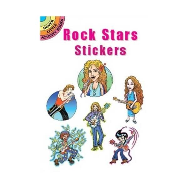 Rock Stars Stickers (Do...の紹介画像1