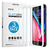 OMOTON [3-Pack] Screen Protector for iPhone 8/7 / 6s / 6, 4.7 inch - Tempered Glass/Guide Frame/Easy Installation
