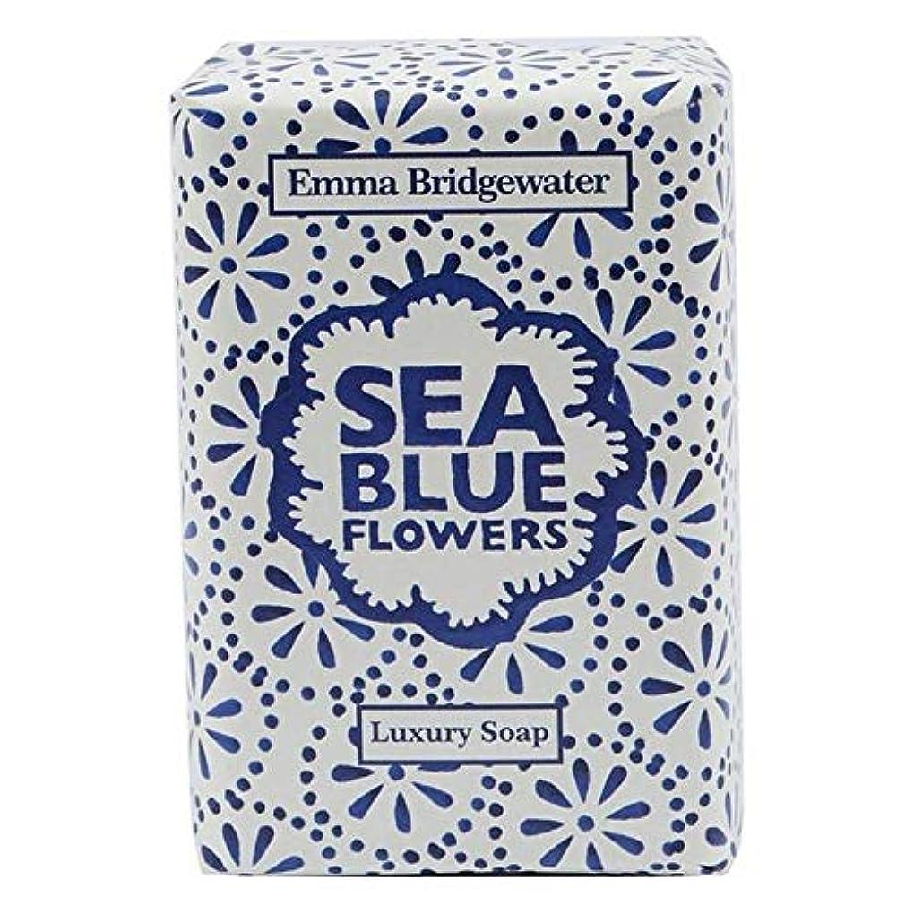 膜学校教育バーベキュー[Emma Bridgewater ] エマブリッジウォーターシーブルーソープ150グラム - Emma Bridgewater Sea Blue Soap 150g [並行輸入品]