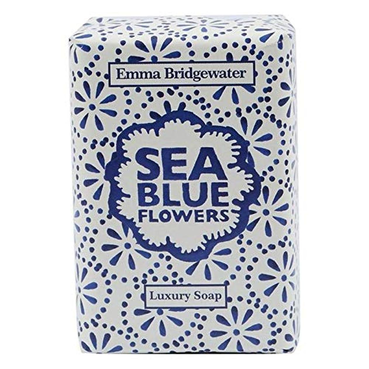 ペスト時々検出する[Emma Bridgewater ] エマブリッジウォーターシーブルーソープ150グラム - Emma Bridgewater Sea Blue Soap 150g [並行輸入品]