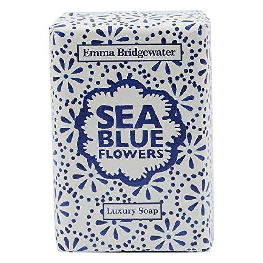 懐疑的ブランチ振幅[Emma Bridgewater ] エマブリッジウォーターシーブルーソープ150グラム - Emma Bridgewater Sea Blue Soap 150g [並行輸入品]