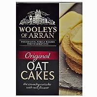アランOatcakesの280グラムのWooleys (x 2) - Wooleys of Arran Oatcakes 280g (Pack of 2) [並行輸入品]