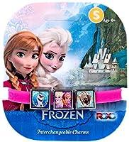 Disney Frozen Olaf, Sven, Anna & Elsa Charm Bracelet [Small] [並行輸入品]