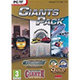 Giants Pack - Traffic Giant Gold Plus Traffic Giant 2 Gold Plus Industry Giant Gold (PC DVD) (輸入版)