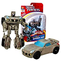 Hasbro Year 2006 Transformers Fast Action Battlers Series 6 Inch Tall Robot Action Figure - Ion Blast AUTOBOT JAZZ with