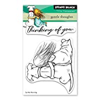 Penny Black Gentle Thoughts Clear Unmounted Rubber Stamp Set (30-485)