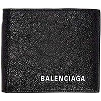 (バレンシアガ) Balenciaga メンズ 財布 Black Logo Chain Wallet [並行輸入品]