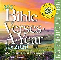 365 Bible Verses-A-Year カラーページ-A-Day カレンダー 2020 [6インチ x 6インチ ]