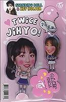 ジヒョJIHYO/TWICEトゥワイススタンディングドールキーホルダー韓国