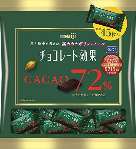 チョコレート効果 カカオ72% 大袋