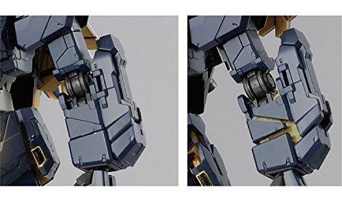 RG 機動戦士ガンダムUC ユニコーンガンダム2号機 バンシィ・ノルン 1/144スケール 色分け済みプラモデル