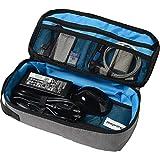 sokaiwheel 大容量 大きな 充電器ポーチ【ビジネスバッグ内スペース有効活用モデル】PCアクセサリー周辺小物一括 整理・収納ケース 旅行併用可