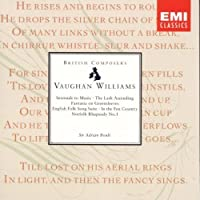 Vaughan Williams: Serenade to Music; The Lark Ascending; Fantasia on Greensleeves; English Folk Song Suite; In the Fen Country; Norfolk Rhapsody No. 1 (1991-10-11)