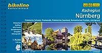 Nurnberg Radatlas Frankische Schweiz, Frankenalb, Aischgrund 2017