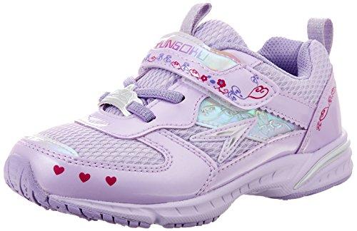 [シュンソク] 運動靴 レモンパイ SLIM LEC 4310 ラベンダー 19 cm E