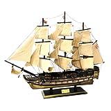 木製帆船模型 HMSヴィクトリー号 70センチ 完成品