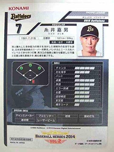 BBH 2014追加 黒カード 糸井嘉男(オリックス)