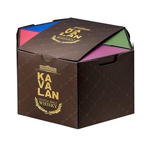カバランポットスチルボトルギフトセット [ ウイスキー 台湾(台湾省/中華民国) 50mlx6本 ]