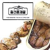Dano(ダノ) 燻製牡蠣 オリーブオイル漬け 唐辛子入り 食塩不使用 85g×6缶