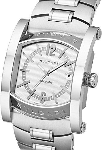 [ブルガリ]BVLGARI 腕時計 アショーマ ホワイト文字盤 自動巻 AA48C6SSD/JP(102232) メンズ 【並行輸入品】