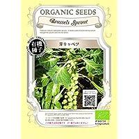 芽 キャベツ/有機 種子 固定種/グリーンフィールド / ブラシカ [小袋]
