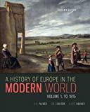 A History of Europe in the Modern World, Volume 1 画像