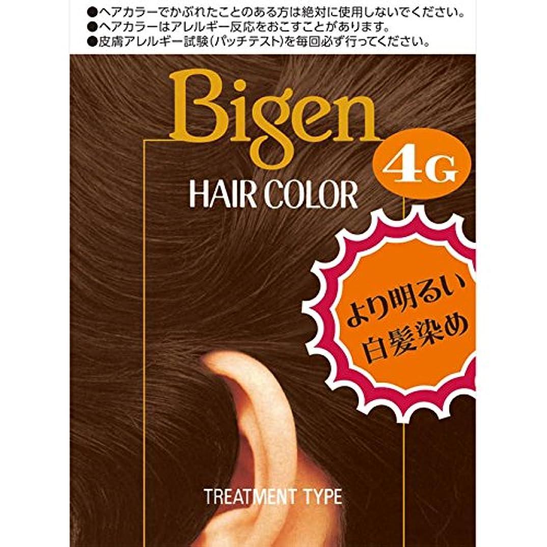 におい騒々しい記念日ホーユー ビゲン ヘアカラー 4G 自然な栗色 40ml×2 (医薬部外品)