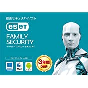 ESET ファミリー セキュリティ (最新版) | 5台3年版 | カード版 | Win/Mac/A...