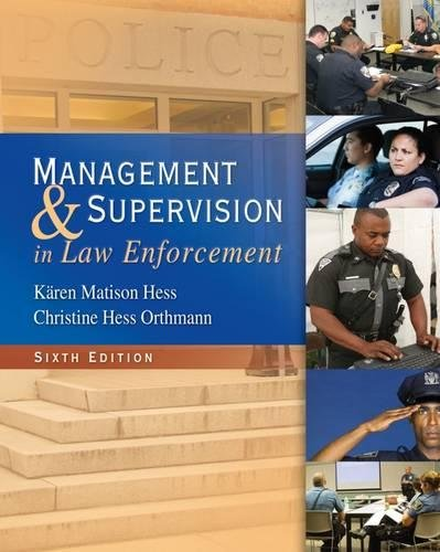 Download Management and Supervision in Law Enforcement 1439056447
