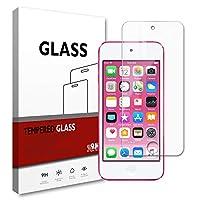 【1枚入り】iPod touch 7 / 6 / 5 世代 ガラスフィルム iPod touch 7/6/5 世代 強化ガラス 保護フィルム スクリーン プロテクター, Apple iPod touch 7 フィルム 超薄型 硬度9H 高透過率 指紋防止 耐衝撃