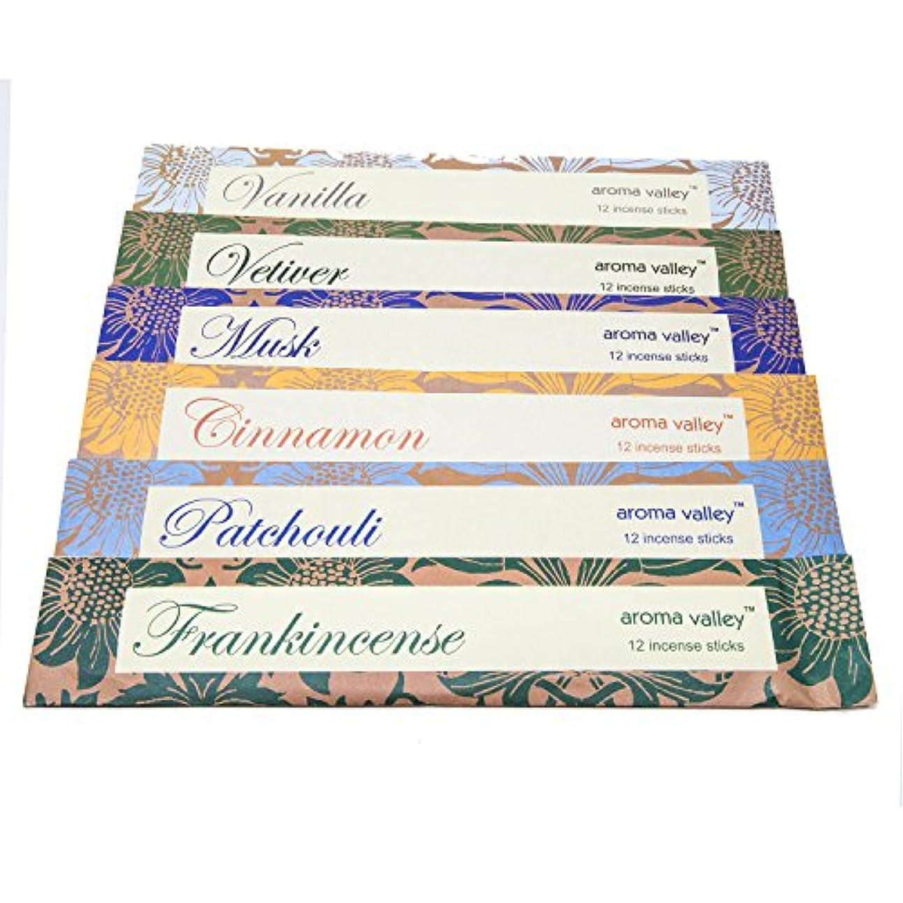 クラス貨物反逆者Eco Friendly OrganicハンドメイドAroma Incense WandsシナモンFrankincenseムスクパチュリバニラVetiver 12 Incense Sticks in Eachパック