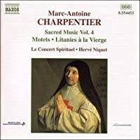 M.-A.シャルパンティエ:聖母マリアのためのモテット集