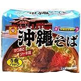 マルちゃん沖縄そば かつおとソーキ味 5食パック