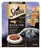 シーバ デュオ 香りのまぐろ味セレクション 240g 製品画像