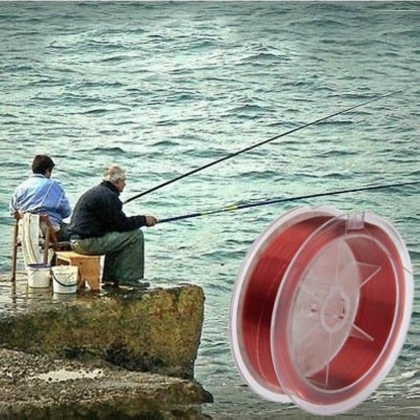 投げる発行する壊すYANG 100m Extra Strong 10.0#0.60mm 25.8kg Duel Road Department of Fish line(Red)Yang
