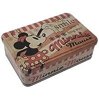 ミニーマウス[収納用品]ブリキ缶フリーボックスディズニー