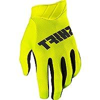 Shift Racing 3lackラベルAirメインライン大人用モトクロスオートバイ手袋–Flo Yellow M 18768-130-M