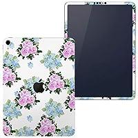 igsticker iPad Pro 12.9 inch インチ 専用 apple アップル アイパッド 2018 第3世代 A1876 A1895 A1983 A2014 全面スキンシール フル 背面 側面 正面 液晶 タブレットケース ステッカー タブレット 保護シール 人気 花 フラワー 006407