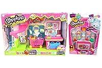 Shopkins Bundle: Small Mart Supermarket Playset AND Season 4 12 Pack