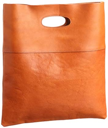 Tochigi Leather Clutch Bag 118-48-0007: Light Brown