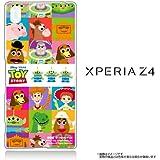 Xperia Z4 (SO-03G SOV31 402SO) 専用 【Disney/ディズニー】 クリアケース トイストーリー/TOY STORY(2デザイン)」 ケース カバー パズ/ウッディ/ポテトヘッド (ALL CAST(TOYSOTRY))