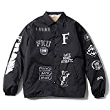 FRANK151 フランク151 Mixed Coach Jacket コーチジャケット FKJP-17SS-003 ブラック / Lサイズ