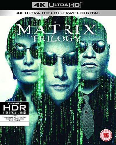 マトリックス トリロジー [4K UHD + Blu-ray リージョンフリ...