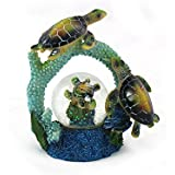 動物野生生物コレクションSea Turtle Waterglobe