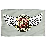 REO SPEEDWAGON アールイーオースピードワゴン - SPEEDWAGON LOGO スポーツタオル/タオル 【公式/オフィシャル】