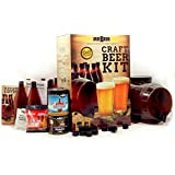 Mr. Beer Complete Beer Kit Making Premium Gold Edition Brown