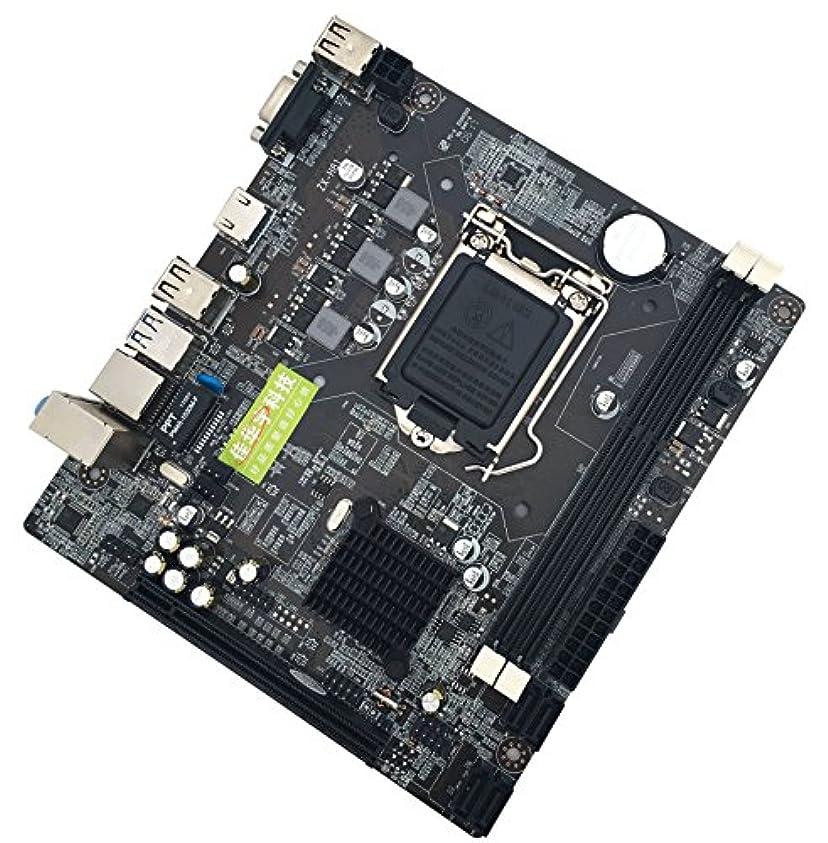 怒る不健康委任するAccreate H81 マザーボード 1150 Intel Core 4 Generation USB3.0 SATA3.0 マザーボード HDMI USB付き