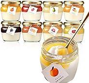 morin 彩果のじぇらりん 8個入り ジェラート × 果汁ジュレ(オレンジ りんご 桃 洋梨 ぶどう マンゴ グレープフルーツ)低糖質 冷凍便