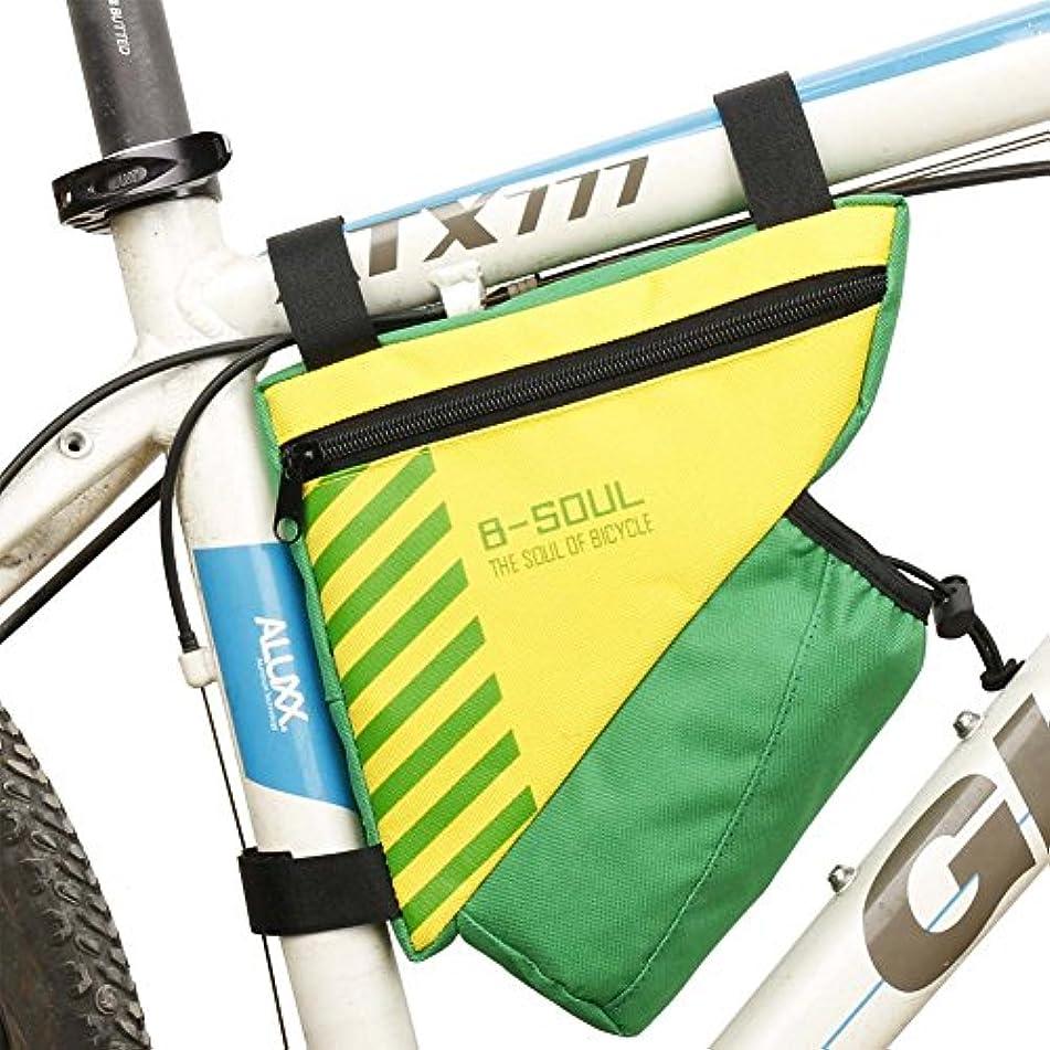 挑むささいなキモいNeaer自転車水ボトルポーチ三角形フレームバイクバッグ自転車フロントチューブフレームポーチホルダー